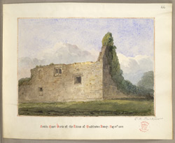 South East View of the Ruins of Godstow Abbey May 31st 1849